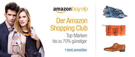 Amazon BuyVIP jetzt in Deutschland