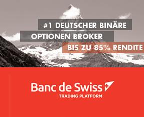 BancdeSwiss Optionshandel im Test