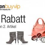 Amazon BuyVIP Gutschein für Neukunden: 50% Rabatt auf den 2. Artikel!